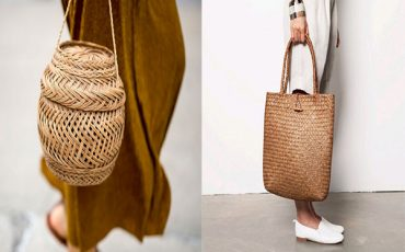 hasır çanta modeli