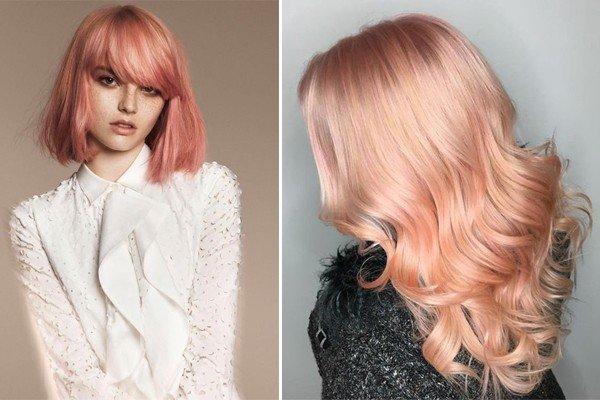 turuncu saç rengi